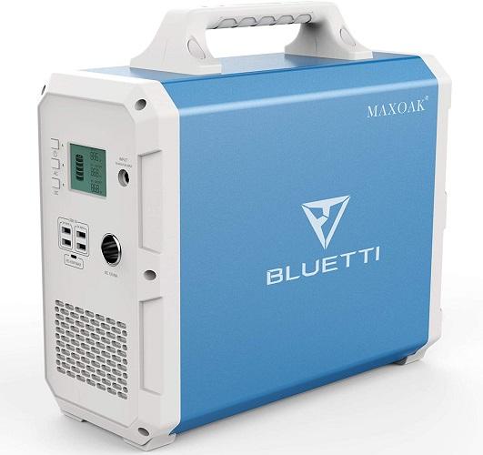 Maxoak Portable Power Station Solar Generator