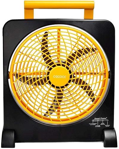 O2Cool Multiple Power Options Car Fan