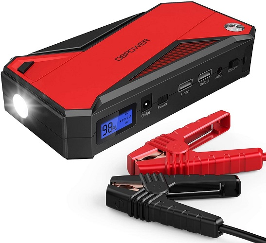 DBpower Portable 12v Battery Booster