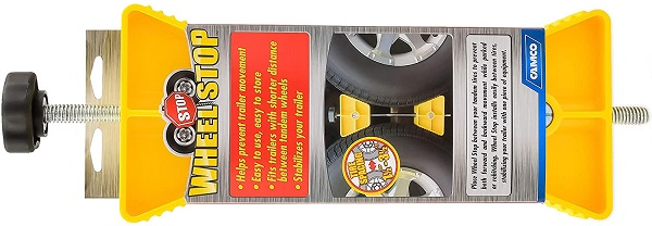 Camco RV Wheel Stop Stabilizer