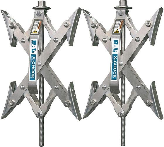 X-Chock RV Wheel Stabilizer
