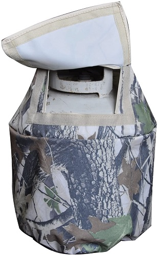 BroilPro Accessories Leaf Propane Tank Cover