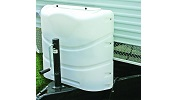 Camco Dual Propane Tank Cover Small