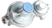 Camco Vertical Two Stage Propane Regulator Small