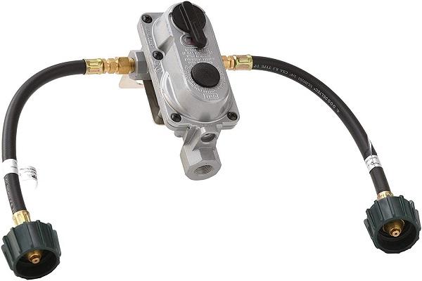 Flame King Auto Changeover Propane Gas Regulator