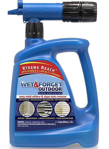 Wet and Forget Remove Mold and Mildew