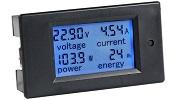 Bayite LCD Display RV Battery Monitor Small