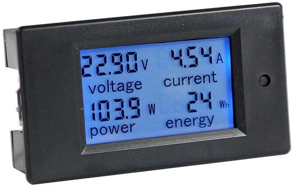 Bayite LCD Display RV Battery Monitor