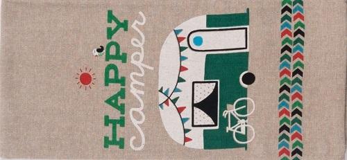 Happy Camper Camping Towel