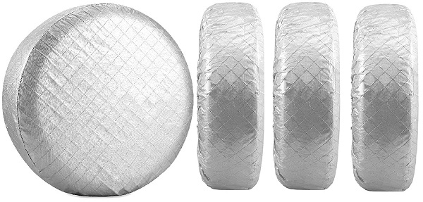 Tire Covers for RV Motorhome