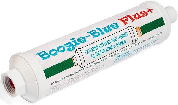 Boogie Blue Garden Hose Water Filter for RV