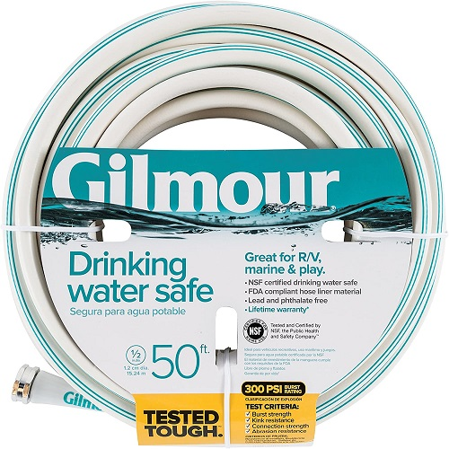 Gilmour Recreation Drinking Water Safe Hose