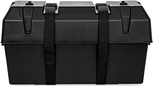 Camco Double Battery Box