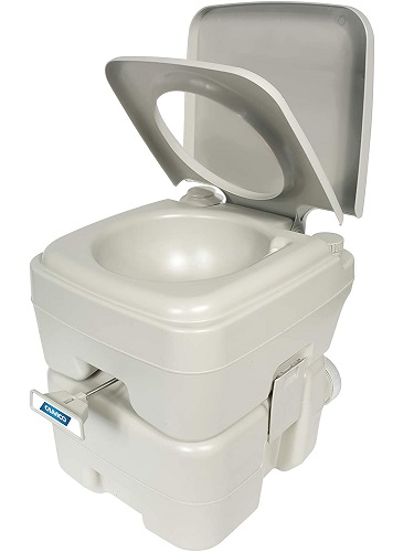 Camco Portable Travel Toilet for RV