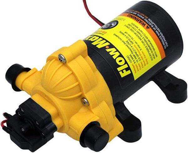 ppert Components 12v Flow Max RV Water Pump