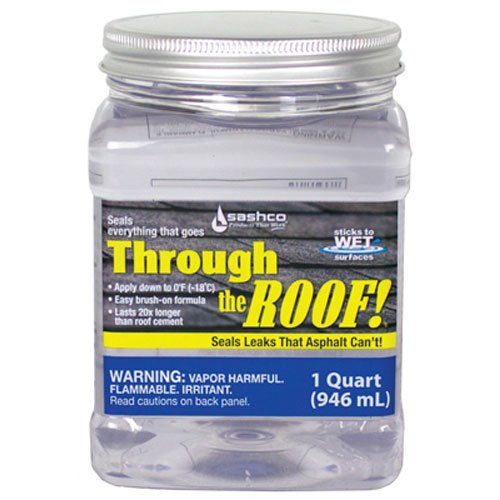 Sashco Clear Roof Sealant