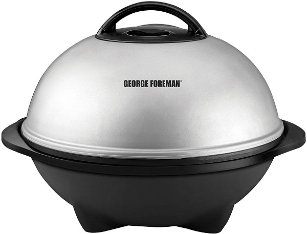 George Foreman Portable Electric Grill