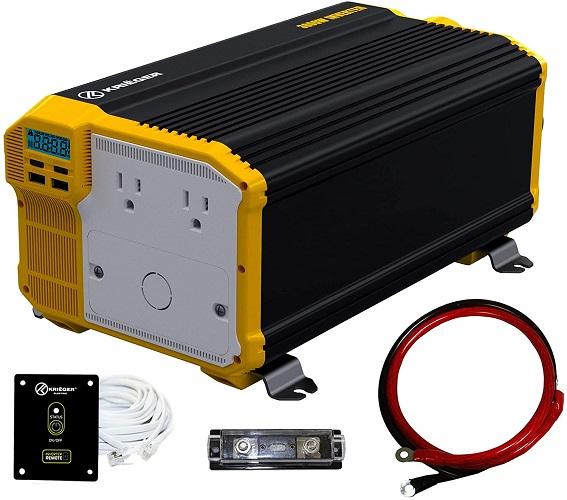 Krieger Modified Sine Wave RV Inverter