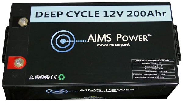 Aims Power Lithium Battery