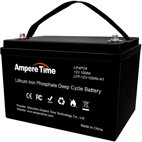 Ampere Time Lithium Lifepo4 RV Battery