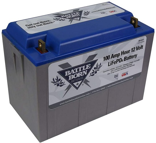 Battle Born Deep Cycle Battery for Campers