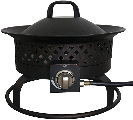 Bond Manufacturing Steel Gas Fire Pit