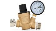 Camco Adjustable Brass Water Pressure Regulator Small