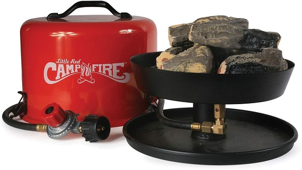 Camco Little Red Tabletop Fire Bowl