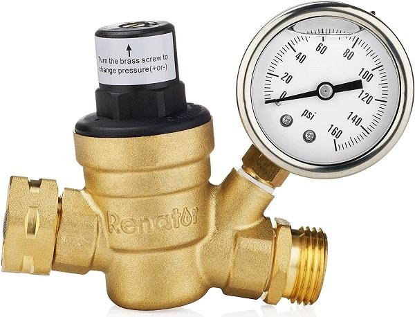 Renator RV Water Pressure Regulator Valve