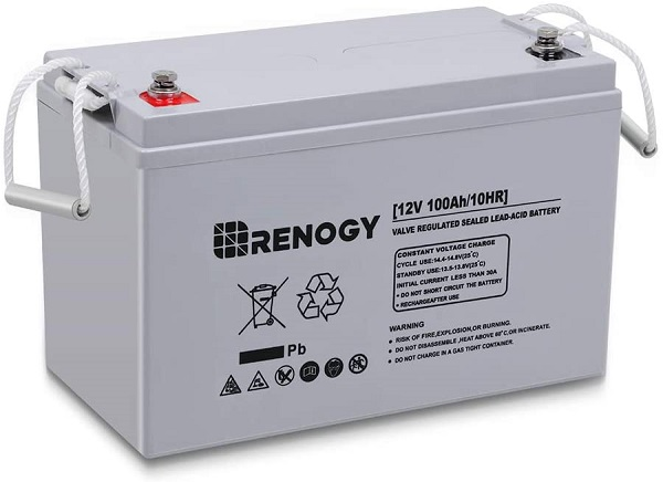 Renogy Deep Cycle Battery for RV
