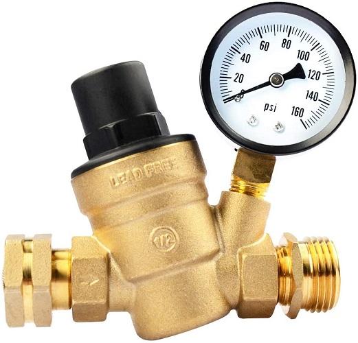 RV Guard Water Pressure Regulator Valve