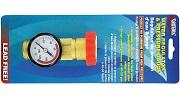 Valterra Brass Water Regulator Gauge Combo Small