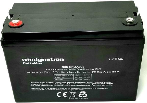 Windy Nation Sealed Lead Acid Battery