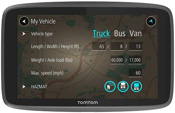 TomTom Trucker GPS Navigation Device
