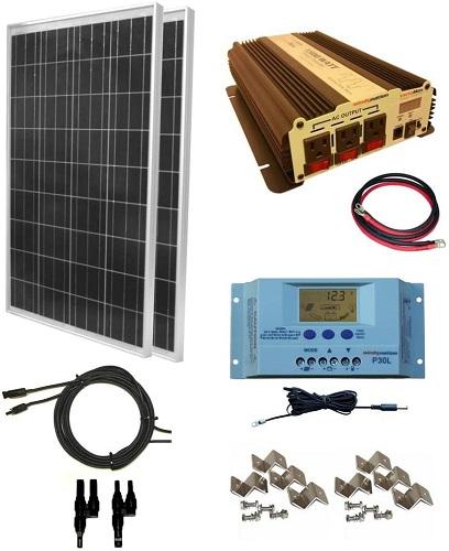 Windy Nation Solar Panel Kit