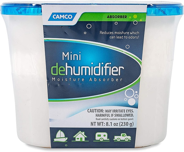 Camco Fragrance Free Miniature Dehumidifier