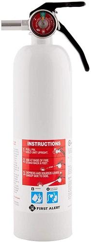 Recreation Vehicle Fire Extinguisher