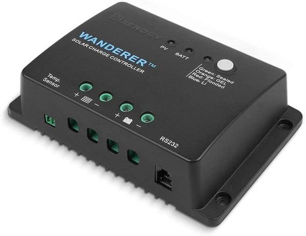 Renogy Wanderer Negative Ground Charge Controller
