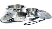 Camco Premium Nesting RV Cookware Set Small