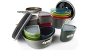 GSI Outdoors Camper Cooking Set for Four Small