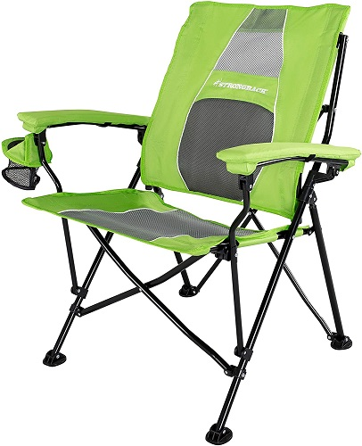 Strongback Elite Folding Camping Chair