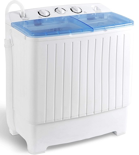 Super Deal Mini Compact Twin Tub Washing Machine