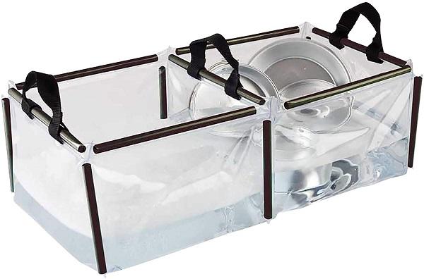 Coleman Folding Double Wash Basin